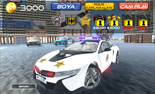 Real i8 Police Car Game: Car Games 2021 apkpoly screenshots 10