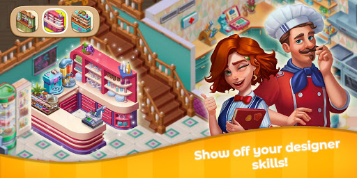 Grand Cafe Storyuff0dNew Puzzle Match-3 Game 2021 2.0.26.1 screenshots 19