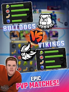 Puzzle Hockey - Official NHLPA Match 3 RPG Screenshot