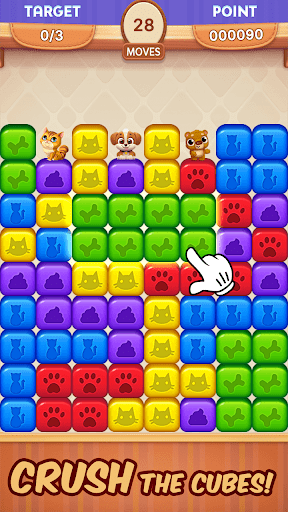 Pet Rescue Mission - Blast Toy Cubes and Save Pets 1.2.0 screenshots 2