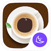 Food&I Love Coffee-APUS launcher theme