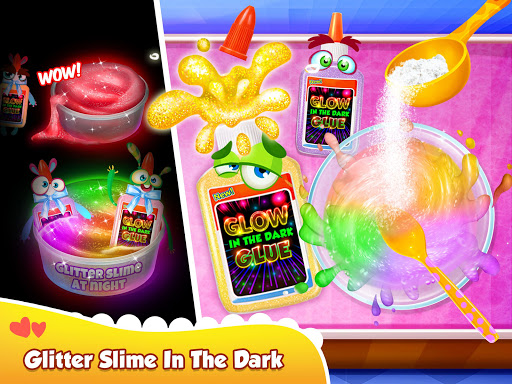 Glitter Slime Maker - Crazy Slime Fun screenshots 12