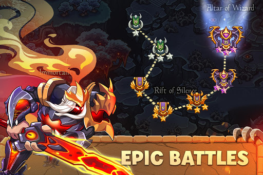 Empire Warriors: Tower Defense TD Strategy Games  screenshots 19