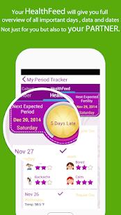 My Period Tracker / Calendar