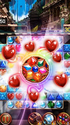Jewel Ruins: Match 3 Jewel Blast android2mod screenshots 1