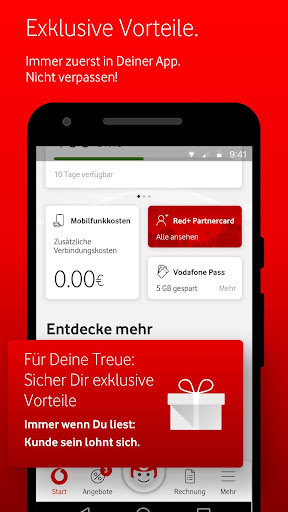 MeinVodafone For PC Windows (7, 8, 10, 10X) & Mac Computer Image Number- 8