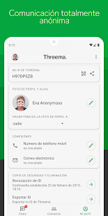 Threema. Mensajero seguro y privado Screenshot