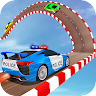 Police Water Car Surfer Stunt Game game apk icon