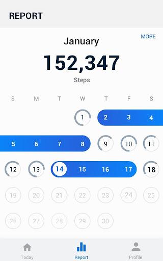 Pedometer -  Step Counter Free & Calorie Burner 2.0.4 Screenshots 8
