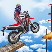 Bike Impossible Tracks Racing: Motorcycle Stunts