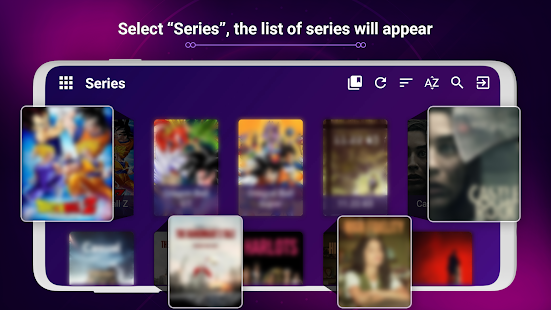 IPTV Purple VOD Player