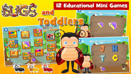 Toddler Games Age 2: Bugs screenshots 5