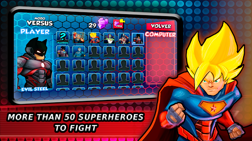 Superheroes Fighting Games Shadow Battle 7.3 screenshots 13