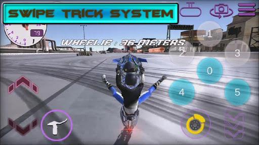 Télécharger Wheelie King 3 - Motorbike Wheelie Challenge 3D mod apk screenshots 5