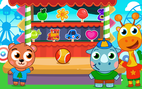 Amusement park for kids! APK + MOD (Unlimited Money) 1