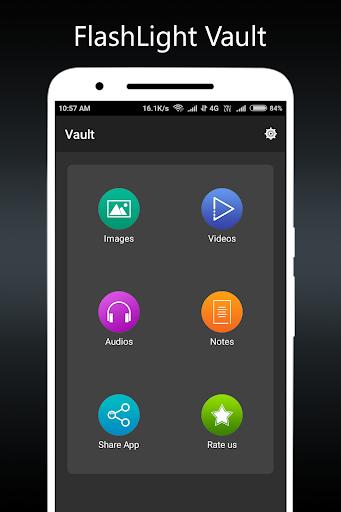 Flashlight Vault : Gallery Locker & Video Vault screenshots 4