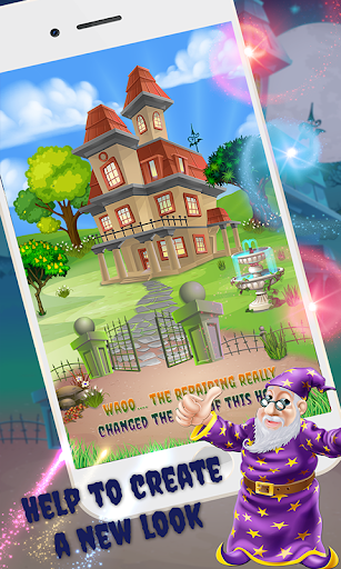 Haunted House Repair apkpoly screenshots 4