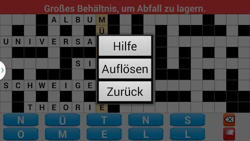 Kreuzwortru00e4tsel Deutsch screenshots 5