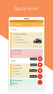 Fnote - Notes, Lists and Reminder