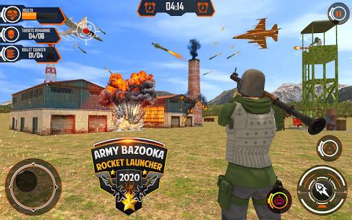Army Bazooka Rocket Launcher: Shooting Games 2020  Pc-softi 12