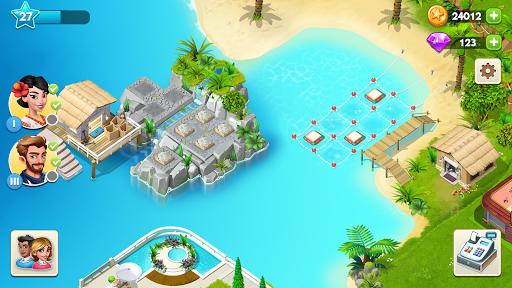 Code Triche My Spa Resort: Grandir, construire et embellir🌸 APK Mod screenshots 1