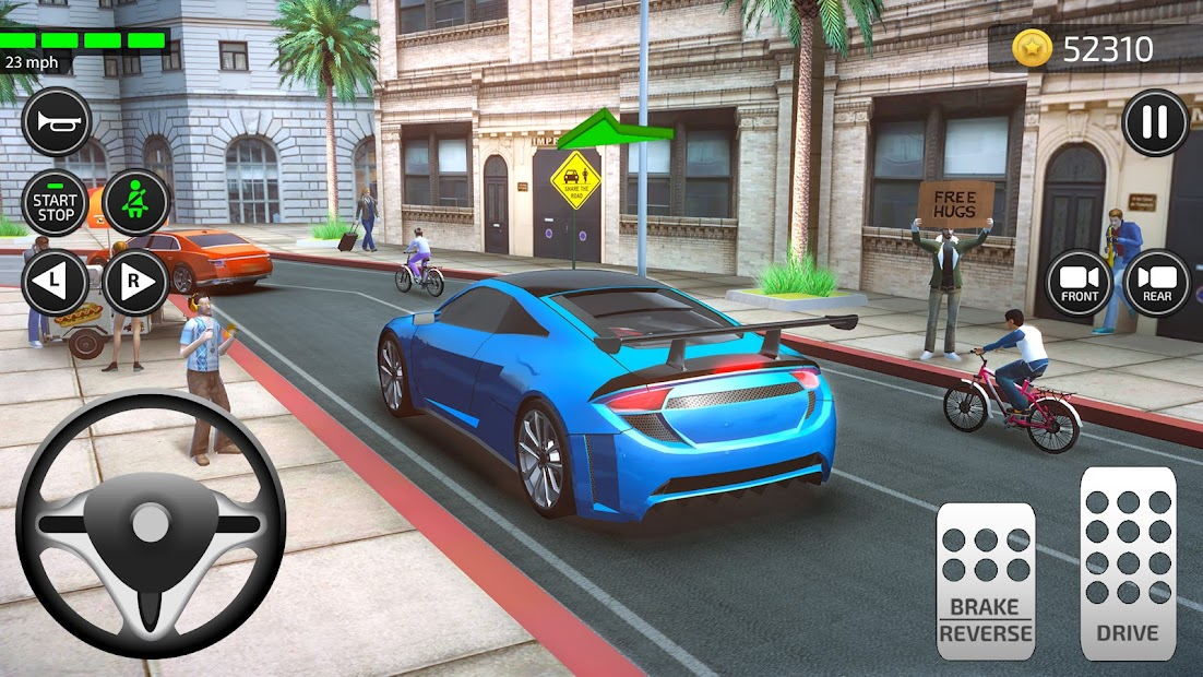Driving Academy: Car Games & Driver Simulator 2021 Android App Screenshot