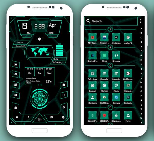 High Style Launcher 2020 - hitech homescreen theme 37.0 Screenshots 2