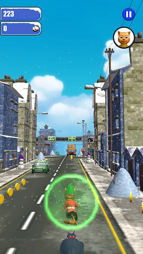 Leo Cat Ice Run - Frozen City screenshots 1