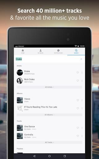 Deezer Music Player: Songs, Radio & Podcasts 6.1.14.99 Screenshots 18