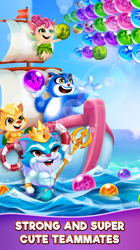 Cat Pop Island: Bubble Shooter Adventure screenshots 4