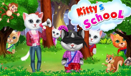 Kitty's School Trip : Cute Kitty Games  screenshots 1