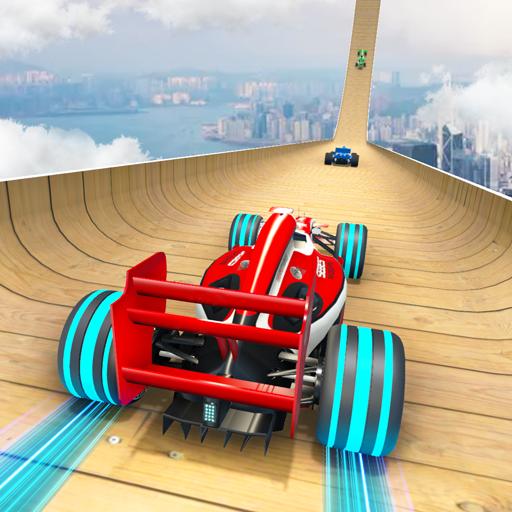 Formula Car Stunt 3D Mega Ramp