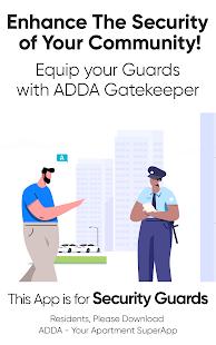 GateKeeper by ADDA - Apartment Complex Gate Mgmt