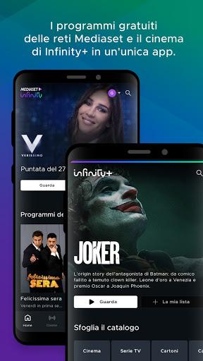 Mediaset Infinity TV apktram screenshots 1