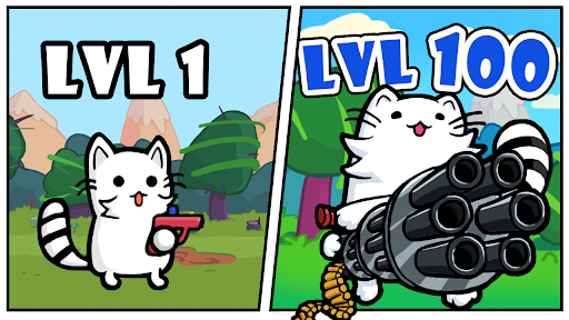 Cat Shooting War: Offline Mario Gunner TD Battles 1.58 screenshots 9