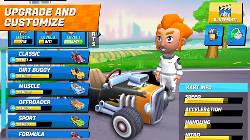 Boom Karts - Multiplayer Kart Racing 0.51 screenshots 3