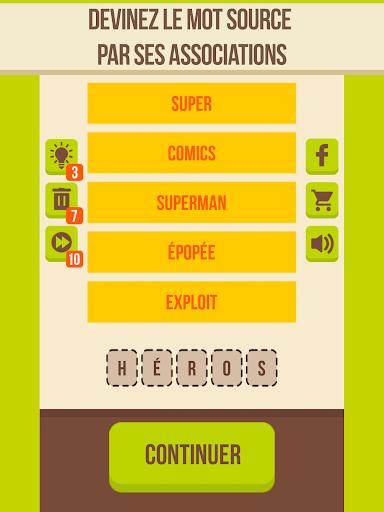 Devinez le mot - 5 indices, Jeu de mots gratuit apklade screenshots 1