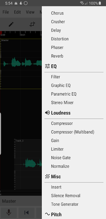 WaveEditor for Android™ Audio Recorder & Editor poster 4