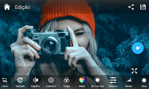Photo Editor - Pixerist FX Pro Collage & Filters Screenshot