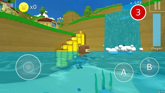 [3D Platformer] Super Bear Adventure Mod Apk (Unlocked + No Ads) 5