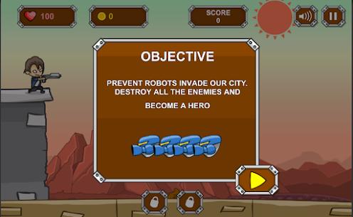 Robot Apocalpse Defense 1.1 Mod APK Download 2