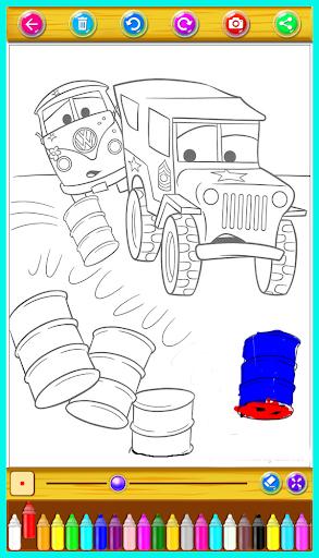 McQueen Coloring Book 1.0.0 Screenshots 4