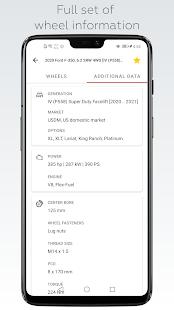 Wheel Size - Wheels database,Tire Size Calculator 2.8.6 Screenshots 6