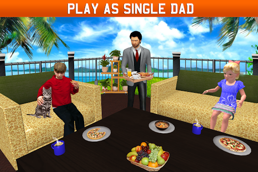Virtual Single Dad Simulator: Happy Father apkpoly screenshots 4