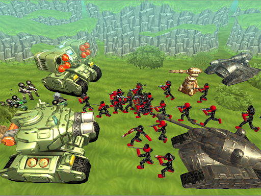 Stickman Tank Battle Simulator 1.10 screenshots 8