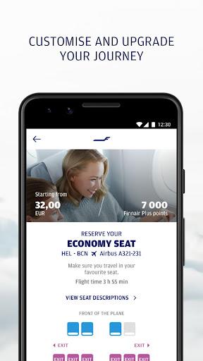 Finnair screenshot 2