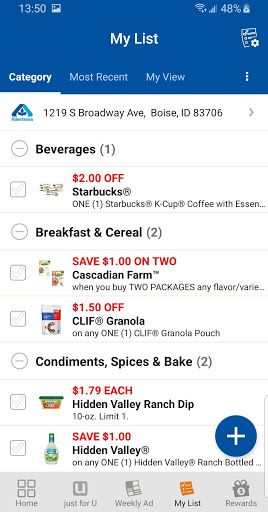 Albertsons Deals & Rewards modavailable screenshots 4