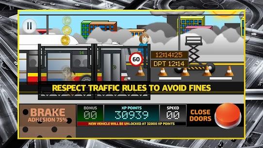 City Bus Driving Simulator 2D – coach driver sim Apk Download 4