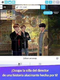 Schermata della storia dell'universo dei BTS