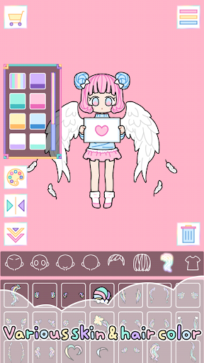 Pastel Girl : Dress Up Game 2.4.8 Screenshots 8